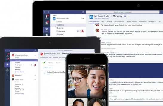 Microsoft Teams is now your hub for apps and work – especially remote work